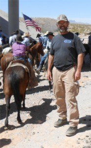 Scott Riley and Steve Klein, brother and friend, recently helped the Bundys confront the BLM -- and they backed down, for now.