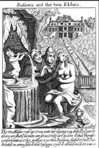 17th Century Biblical Wood Cuts